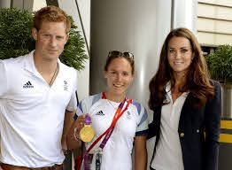 Kate Middleton, Prince Harry, Sophie Hosking - Sophie Hosking Photos -  Olympics - Day 13 - Royals at the Olympics - Zimbio