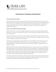Law School Admission Resume