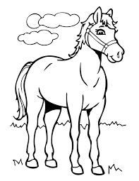 Horse Coloring Pages For Print Jokingartcom Horse Coloring Pages