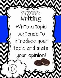 Oreo Opinion Writing Teaching With Crayons And Curls