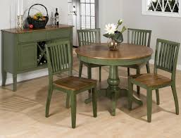 pieces included in this set jofran vintage green 42 inch round dining table
