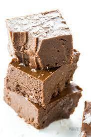 Unsweetened cocoa powder, plus more for garnish. Easy Keto Fudge Recipe 4 Ingredients Video Wholesome Yum
