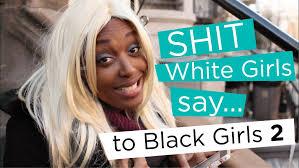 Black girls beating white girls ass