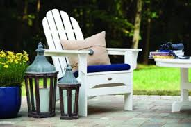 furniture deck. shop trex deck and patio furniture like this white adirondack chair f