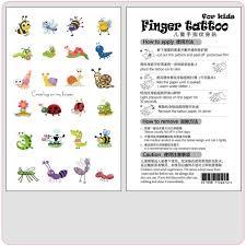 New Original Cartoon Animal Tattoo Stickers Fun Childrens Tattoo Stickers