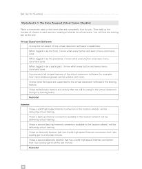 The Extra Prepared Virtual Trainer Checklist Cindy Huggett