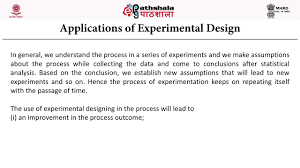 How To Make An Experimental Design Basic Principles Of Experimental Design