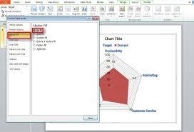 Spider Gap Analysis In Powerpoint 2010
