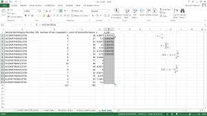 Attribute Chart Attribute Control Trial U Chart Ms Excel