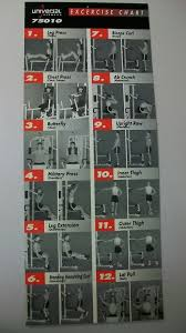 marcy home gym workout poster york gym exercise chart amp free multi gym exercises chart the