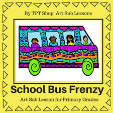 Kindergarten Art Lesson Plans Art Sub Lessons Back To School Kindergarten And Preschool