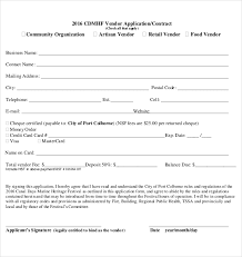 organization membership form template 10 vendor application templates free sample example format