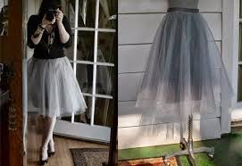 follow the steps how to sew this beautiful tulle skirt in the tutorial pictures
