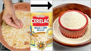 Homemade Cerelac For 6 12 Month Babies Super Healthy Baby Food For 6 Month Old