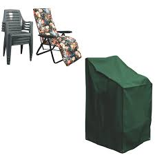 stacking reclining chair cover pvc