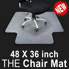 pvc home office chair. PVC Home Office Chair Floor Mat Studded Back With Lip For Pile Carpet 36\ Pvc