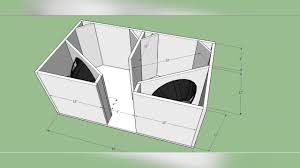 Bandpass Box Design For 12 Inch Box Plan Professional 4th Order Bandpass Bass Dual 15inch Subwoofer Box