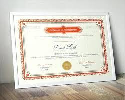 Best Certificate Templates Blank Award Certificate Template Word Tlcmentoring Info
