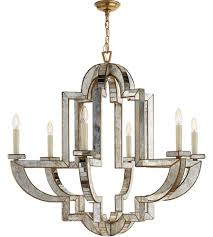 visual comfort nw5041am hab niermann weeks lido 6 light 38 inch antique mirror chandelier ceiling light niermann weeks large