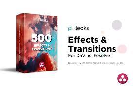 Designer Sound Fx 500 Transitions For Davince Resolve