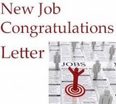 Congratulations Letter On New Job Congratulations Letter For New Job Tirevi Fontanacountryinn Com