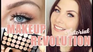 makeup revolution flawless matte palette tutorial mit toni s welt