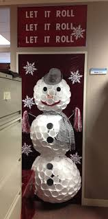 office christmas door decorating ideas. Our Office Door We Decorated For Christmas. It\u0027s A Bama Snowman Made Out Of Paper Christmas Decorating Ideas F