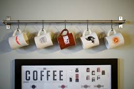 ... Hang your favorite souvenir mug on display | www.gimmesomestyleblog.com  ...