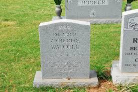 Rosalind Zimmerman Waddell (1949-2002) - Find A Grave Memorial