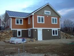 foam forms create an energy efficient concrete house
