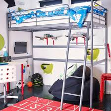 loft bed with shelves. Plain Loft SVRTA Silver Loft Bed With Bean Bag Shelves And TV Set Up Underneath And Loft Bed With Shelves T
