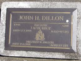 Gunner John Herbert DILLON 17935   2nd NZEF 7 Anti Tank Regi…   Flickr