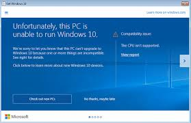 Cpu Is Not Compatible With Windows 10 Techyv Com
