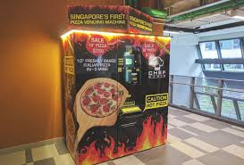 Sandwich Vending Machine Singapore Classy Fussfree Food Of The Future Cashless And Queueless Dining