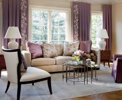 Purple Living Room Curtains Extraordinary Living Room Designs In Vintage Style Amusing