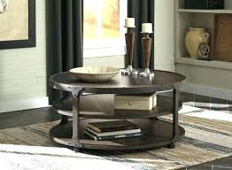 ashley furniture round coffee table set glass for large size of kitchen astounding