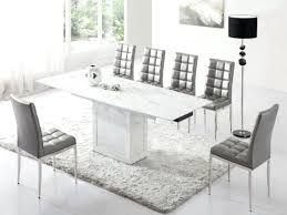 modern white dining room chairs. White Dining Table Set Stunning Room Sets Contemporary Modern Chairs