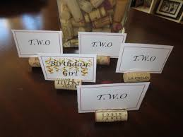 Having a dinner party with assigned seating? Can't decide on how to display  your guests' name? Well T.W.O. has the perfect solution for you!