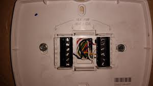 instructions wiring a trane thermostat instructions trane xv80 missing c wire at thermostat home improvement stack on instructions wiring a trane thermostat