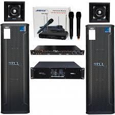 Dàn karaoke và nghe nhạc XA - 16 cao cấp - Hàng chính hãng - Dàn âm thanh  Thương hiệu Bell