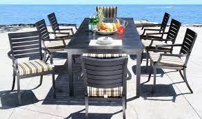 dining cast aluminum patio furniture