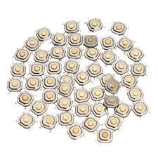 <b>150Pcs DC12V 4 Pins</b> Tact Tactile Push Button Switch Momentary ...
