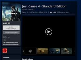 Steam Charts Just Cause 4