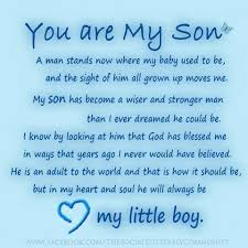 Graduation Quotes For Son Custom Pin By Debbie Bennett On My Son Pinterest Sons