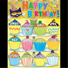 Birthday Chart For Teachers Teacher Created Resources Ep 62008 Pete The Cat Happy Birthday Chart