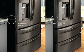 what is counter depth refrigerator kitchenaid pacific s lg 3 door french ultra capacity
