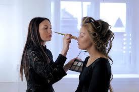 into fashion week as a makeup artist