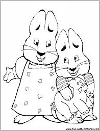 Small Picture Max And Ruby Coloring Pages For esonme