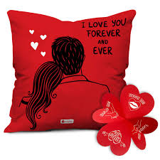 Updated on march 24, 2021 by eds alvarez. Buy Indigifts Valentine Gift For Girlfriend I Love You Forever Quote Red Cushion Filler 12x12 Inches With Cover Valentine Gifts For Girlfriend Boyfriend Husband Wife Birthday Gift Love Gifts Online At