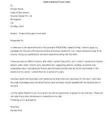 Cover Letter Formal – Lespa